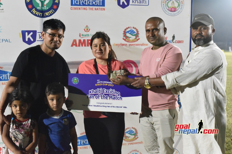 Vishwokarma 11th Jeetpur Simara Gold Cup: Bagmati Club Sarlahi Vs Central College BFC