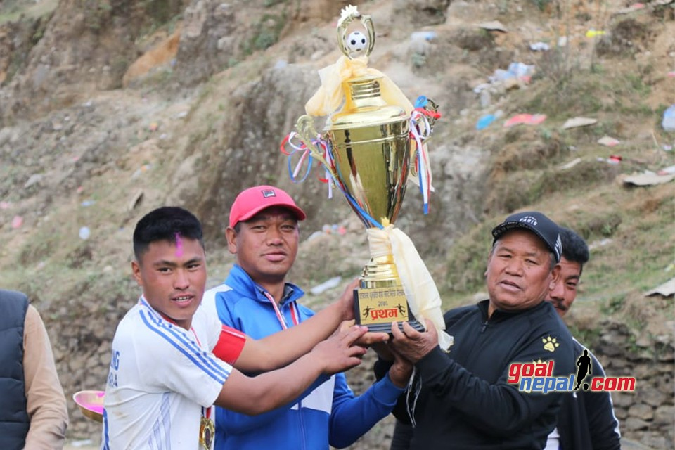 Laligurans Youth Club Lift the title of Smart Village Gold Cup