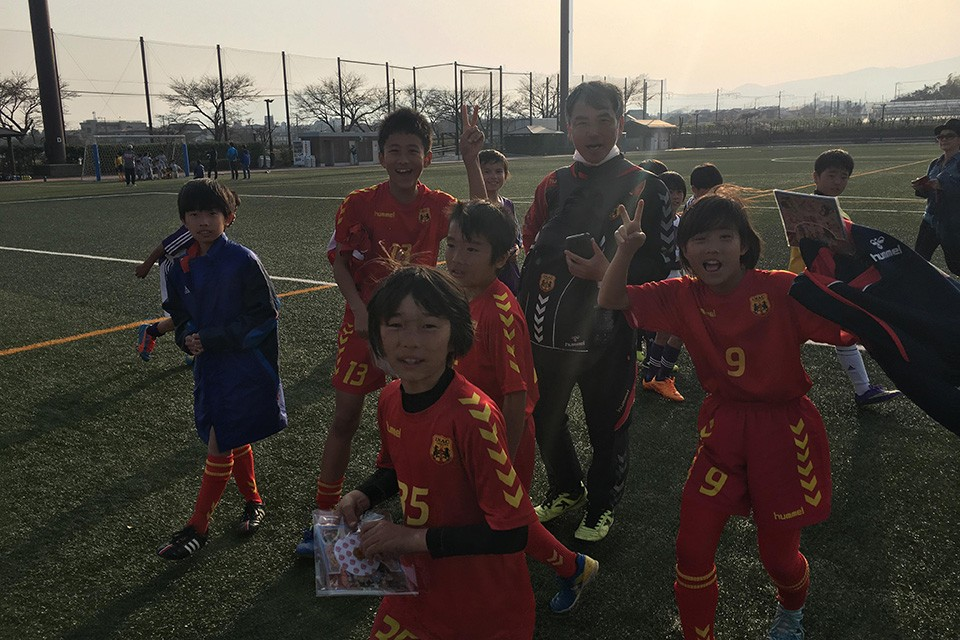 Japanese Kids Paying Respect To U12 Team From Nepal