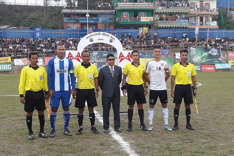 4th Mai Valley Gold Cup: United Sikkim FC Vs Sankata Club - MATCH HIGHLIGHTS
