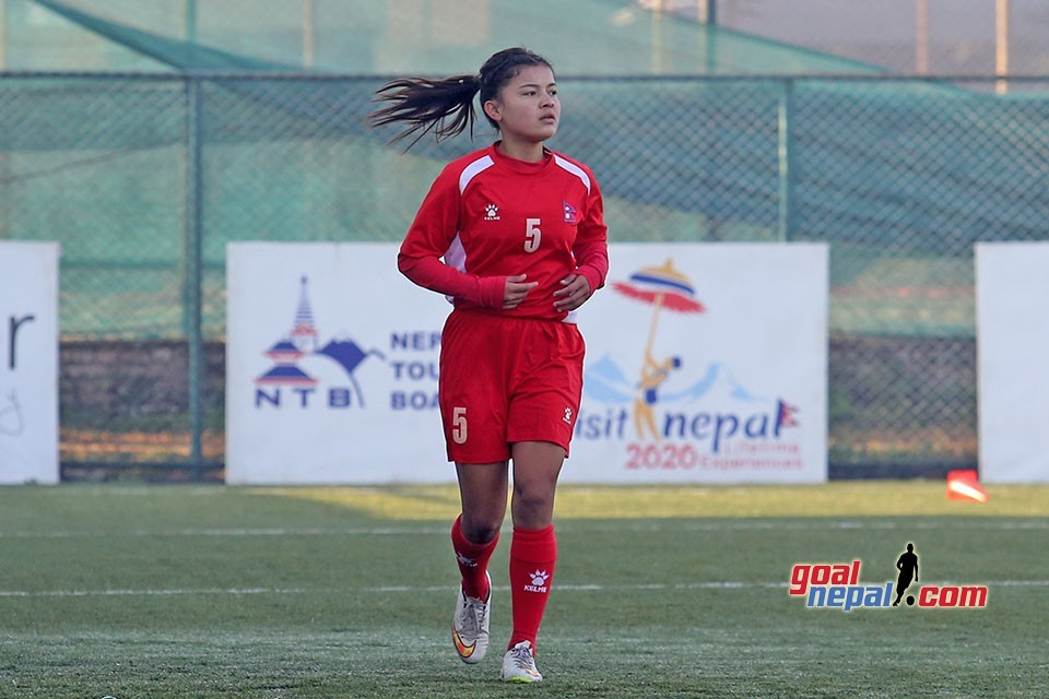 Nepal Women's Team Warm Up Session (VIDEO)