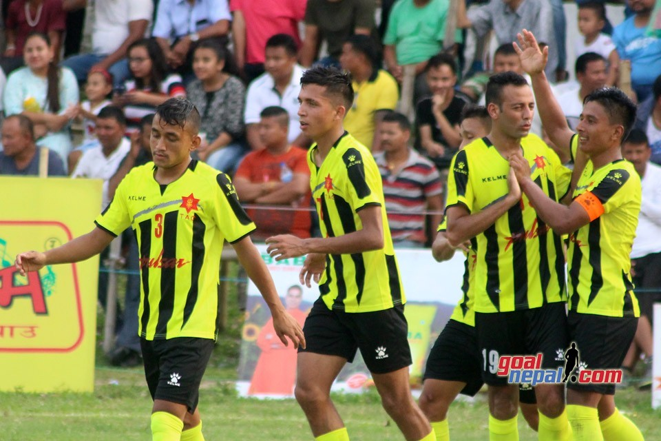 Nepal Army Enters SFs Of 4th Mechinagar Gold Cup