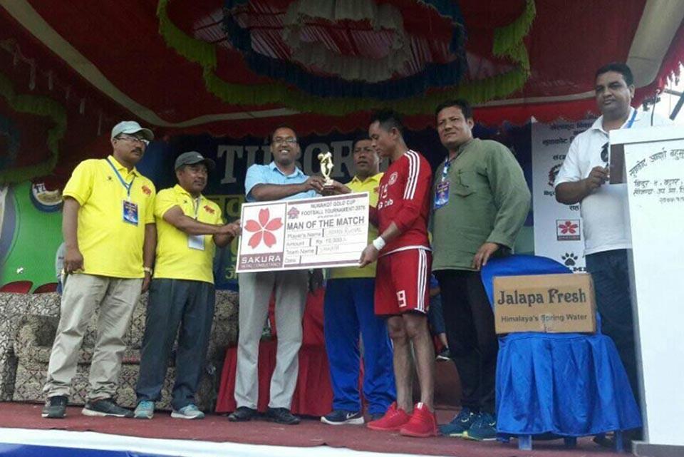 2nd Nuwakot Gold Cup: Sankata Club Vs Nepal Army - MATCH HIGHLIGHTS