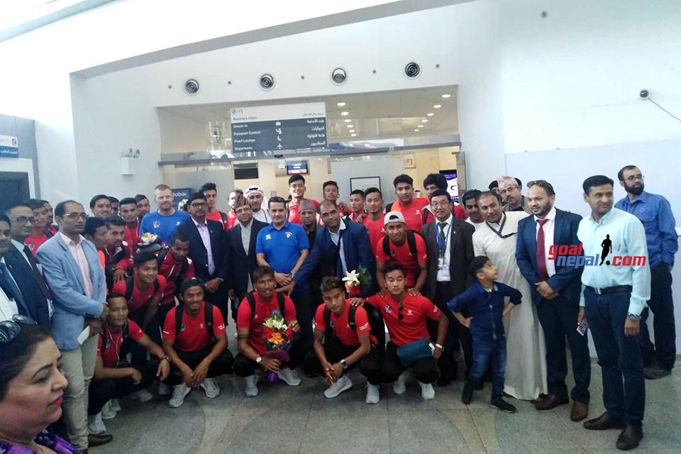 NEPAL LANDS IN KUWAIT CITY | NRNA KUWAIT WELCOMES THE TEAM