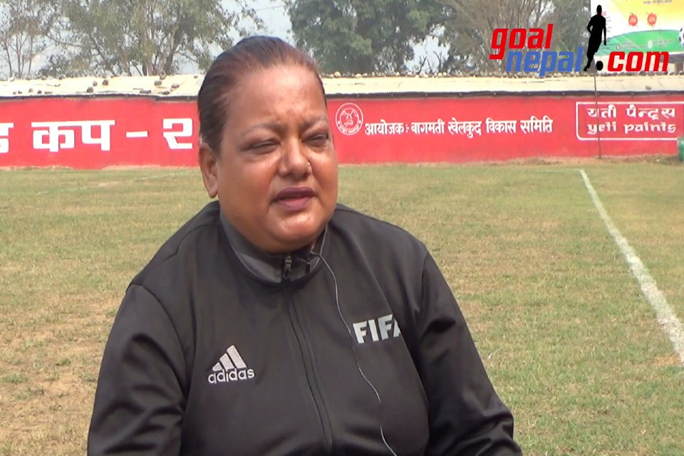 NEPAL'S FIRST FEMALE FIFA REFEREE | KALPANA SHARMA