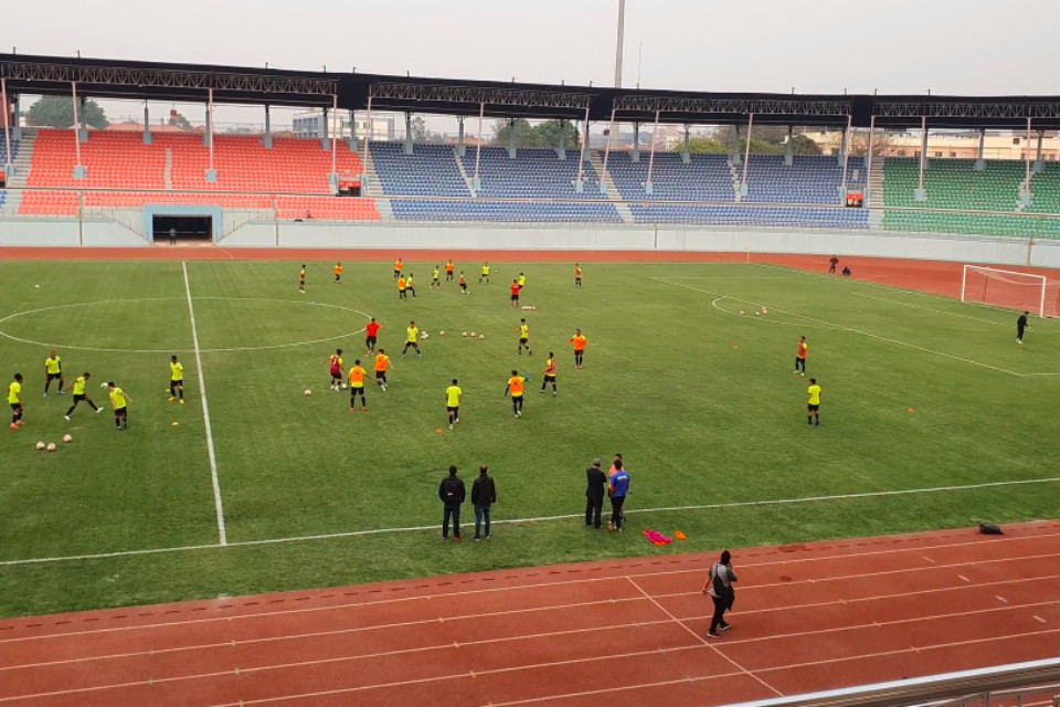 ANFA, NSC Check Floodlights Ahead Of Tri-nation Cup